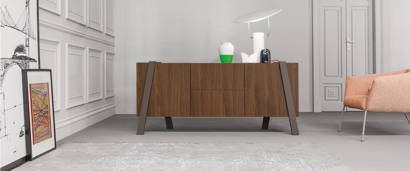 console table Wooden Console Table Designs to Breathe in Nature into the Living Room bonaldo2 1