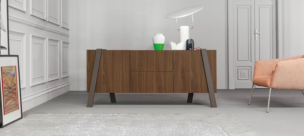 console table Wooden Console Table Designs to Breathe in Nature into the Living Room bonaldo2
