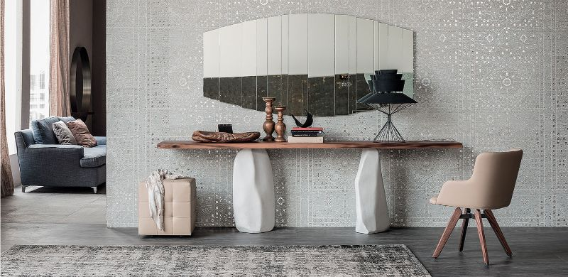 console table Wooden Console Table Designs to Breathe in Nature into the Living Room cattelan
