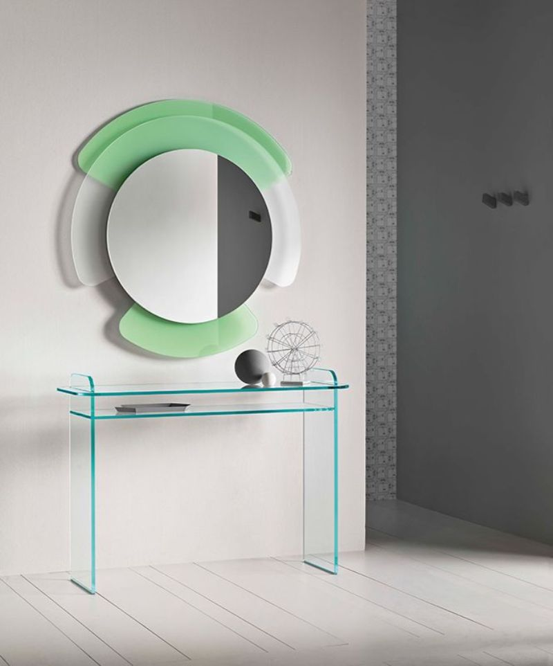 modern mirror modern mirror Modern Mirror Designs that Will Go Well with Your Console Table cristina celestino