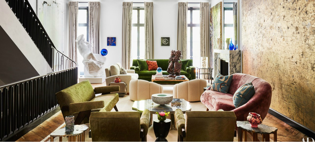 art Greenwich Village Townhouse: Art in Paradise by Ingrao featured 1