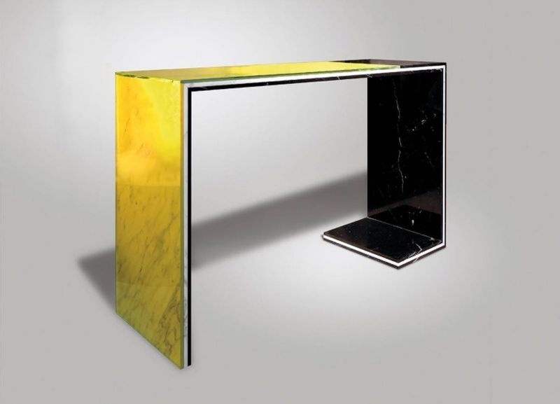 console table Colorful Console Table Designs to Spice Up Your Interior lee broom