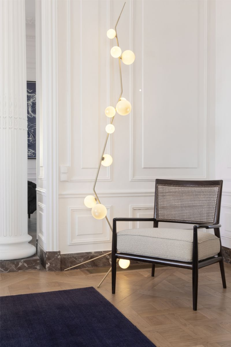 floor lamp floor lamp Modern Floor Lamp Ideas to Match Your Console Table lindsey adelman2