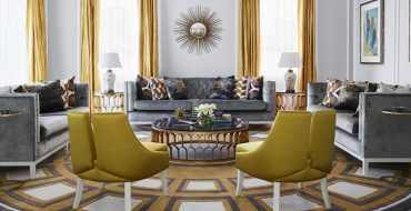 living room interior Exquisite Entryway and Living Room Interior Designs by Greg Natale ALFORDS POINT HOUSE 370x190