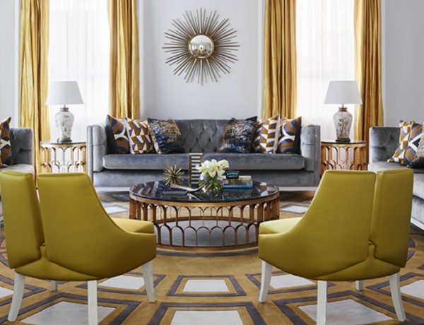 living room interior Exquisite Entryway and Living Room Interior Designs by Greg Natale ALFORDS POINT HOUSE 600x460