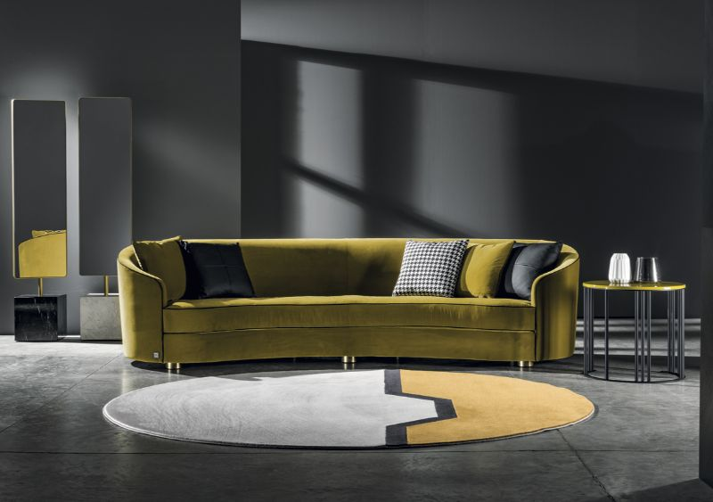 contemporary sofa Contemporary Sofa Designs that Will Match Your Modern Console MeroniColzani orizz Positano