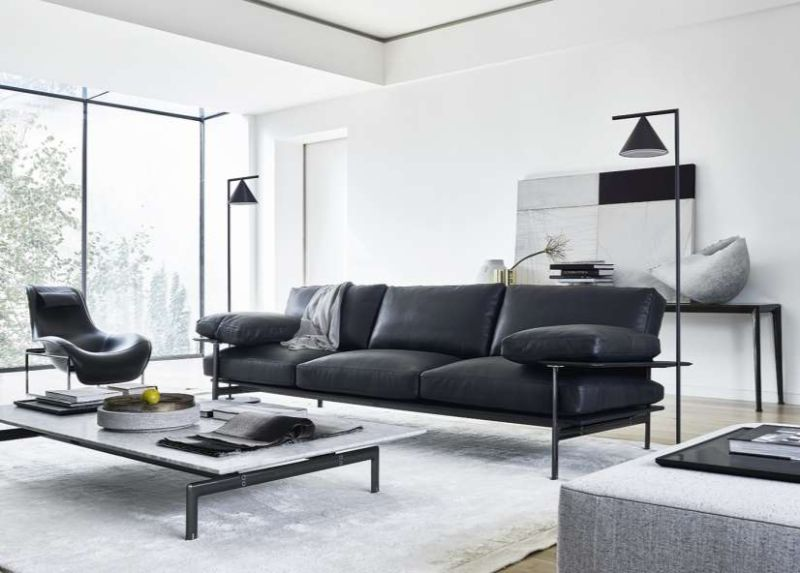 contemporary sofa Contemporary Sofa Designs that Will Match Your Modern Console bebi