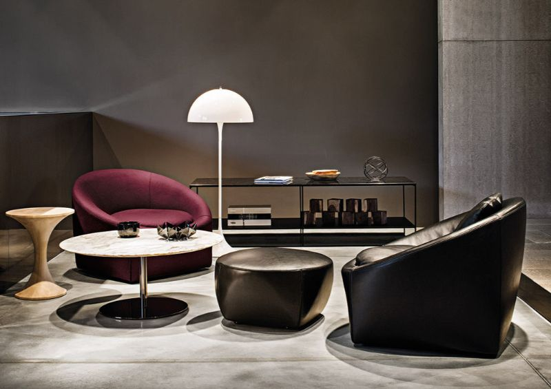 modern armchair Modern Armchair Designs that Will Look Great with Your Elegant Console minotti
