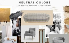 living room furniture Best Trends For Your Living Room Furniture moodboard trends 2019 neutral colors 2 240x150