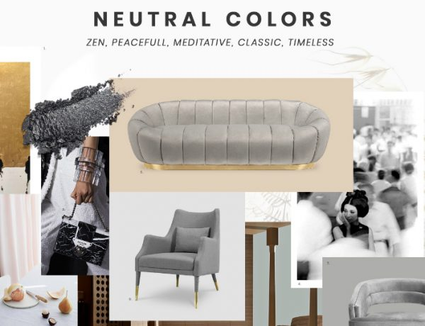 living room furniture Best Trends For Your Living Room Furniture moodboard trends 2019 neutral colors 2 600x460 modern console tables Modern Console Tables moodboard trends 2019 neutral colors 2 600x460