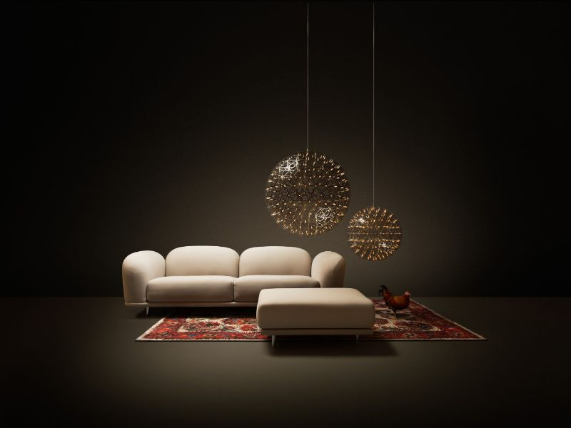 contemporary sofa Contemporary Sofa Designs that Will Match Your Modern Console moooi