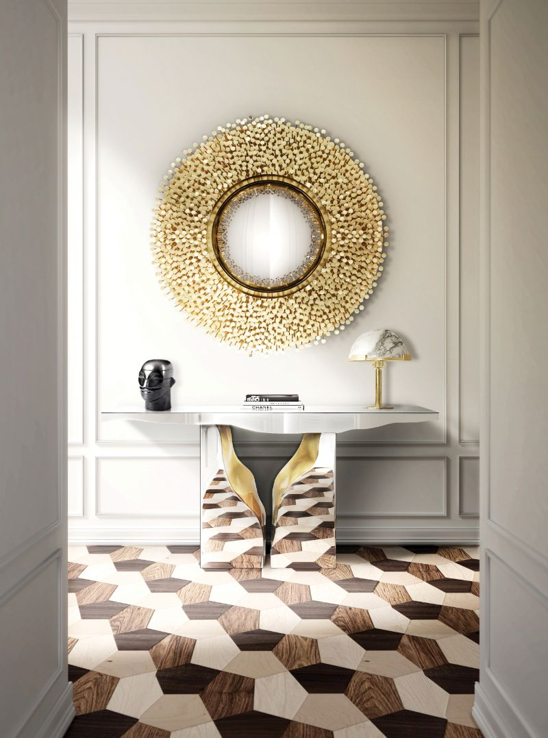 home decor Home Decor Ideas to Match Your Modern Console Table robin mirror hr