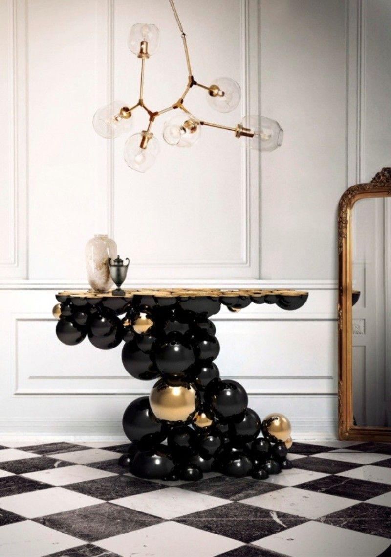 How to Choose a Modern Console Table modern console table How to Choose a Modern Console Table How to Choose a Modern Console Table 8 black