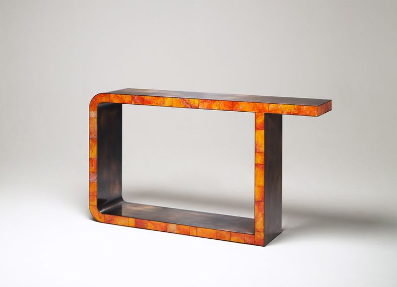 Mattia Bonetti's Exquisite Console Table Design mattia bonetti Mattia Bonetti's Exquisite Console Table Design Mattia Bonettis Exquisite Console Table Design 2
