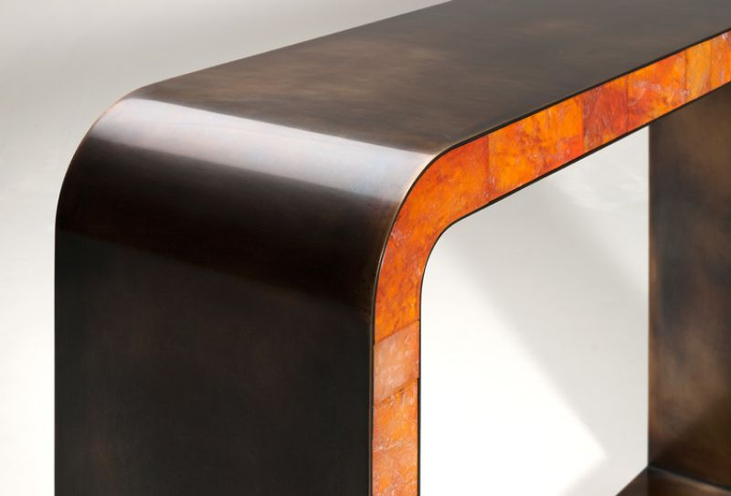 Mattia Bonetti's Exquisite Console Table Design mattia bonetti Mattia Bonetti's Exquisite Console Table Design Mattia Bonettis Exquisite Console Table Design 4