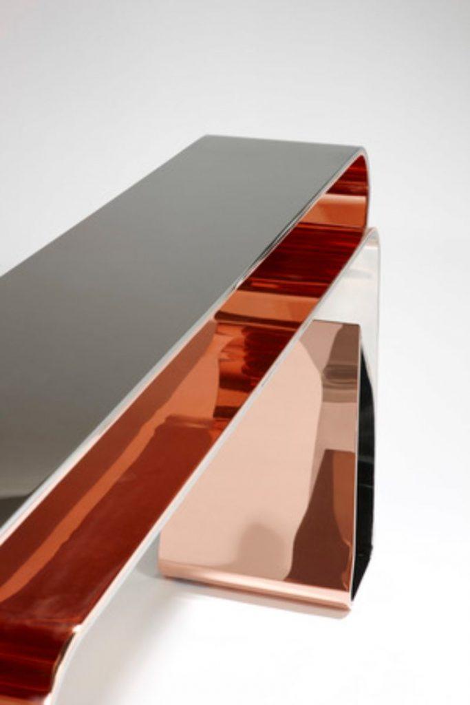 Mattia Bonetti's Exquisite Console Table Design