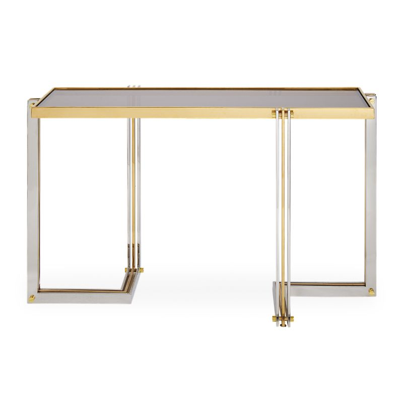 Look At These Striking Gold And White Console Table Designs (1) console table design Look At These Striking Gold And White Console Table Designs Look At These Striking Gold And White Console Table Designs 1