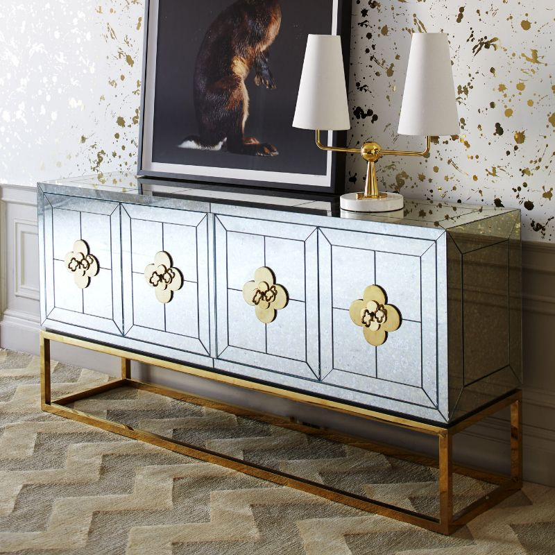 Look At These Striking Gold And White Console Table Designs (6) console table design Look At These Striking Gold And White Console Table Designs Look At These Striking Gold And White Console Table Designs 6