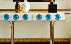 Look At These Striking Gold And White Console Table Designs FT console table design Look At These Striking Gold And White Console Table Designs Look At These Striking Gold And White Console Table Designs FT 240x150