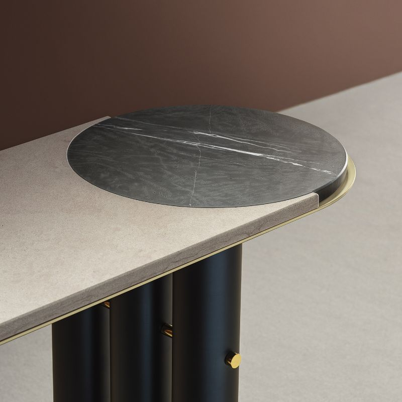 Marble Design Console Tables To Compliment Your Entryway (9)